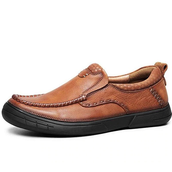 Genuine Leather Outdoor Casual Slip-on Flats