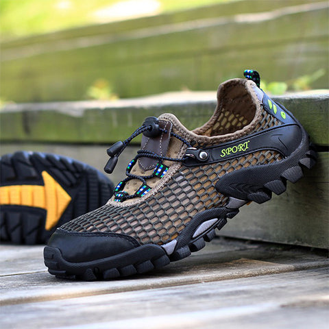 Mens Hiking Shoes Outdoor Trekking Mountain Shoes Sport Sneakers