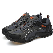 Load image into Gallery viewer, Mens Anti-collision Slip Resistant Soft Sole Casual Hiking Sneakers
