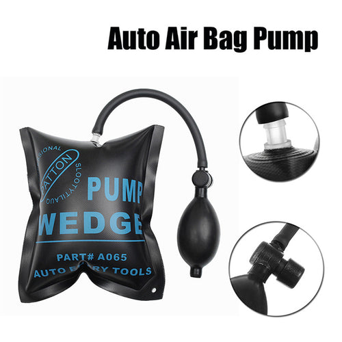 Car Air Pump Wedge Inflatable Pad Auto Door Window Installation Positioning Tool
