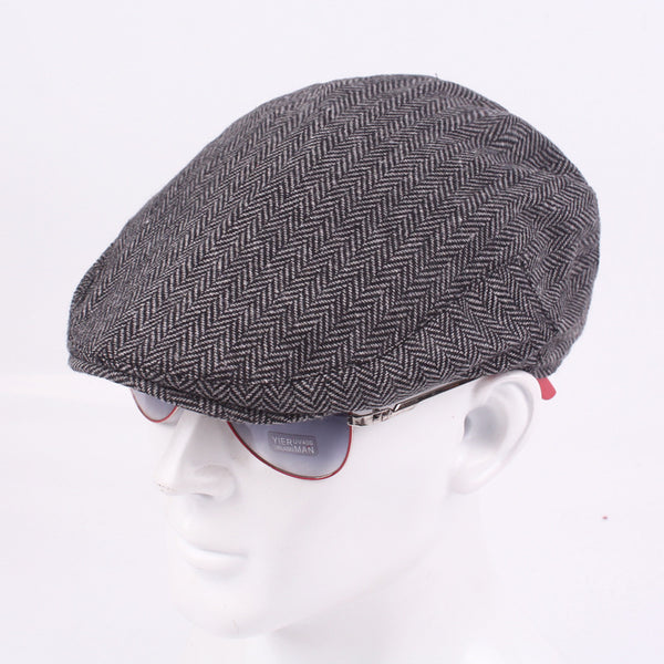 Mens Classic Newsboy Hat Retro Fashion Beret Caps