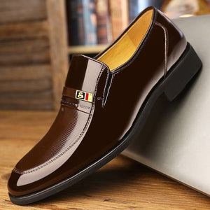 Mens Stylish Slip On Classic Business Casual Formal Dress Shoes