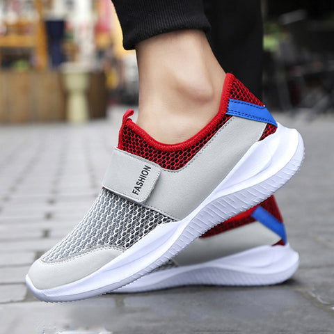 Breathable Mesh Sneakers Lightweight Wear-resistant Hollow Men's Casual Sports