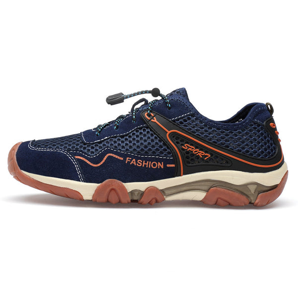 Men Anti-Collision Mesh Breathable Non-slip Casual Walking Shoes