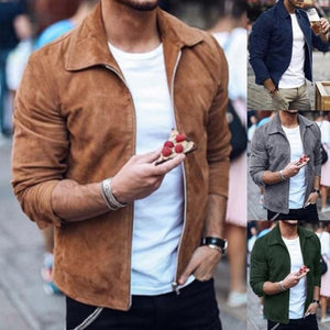 Long Sleeve Casual Men's Jackets