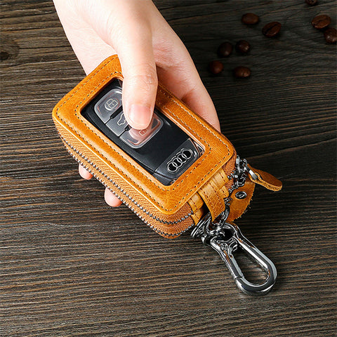 Casual Vintage Car Key Holder Key Bag