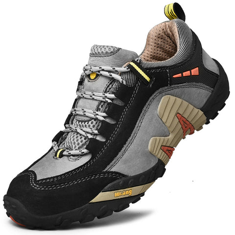 Men Non Slip Shock Absorption Soft Sole Casual Hiking Sneakers