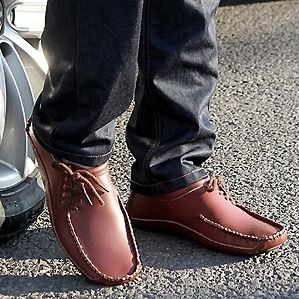 Mens Spring Summer Driving Loafers Shoes Comfortable Moccasin Shoes