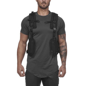 Men's Multifunctional Outdoor Protective Sports Training Vest