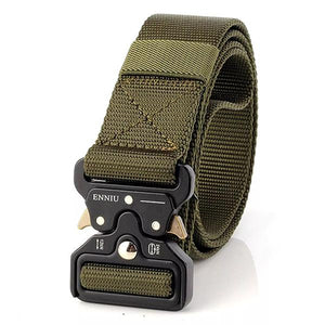 Survival Military Nylon Belts For Men Tactical Waist Belt