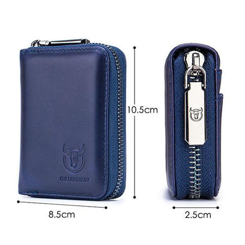 Casual Zipper Short Style Men Wallets