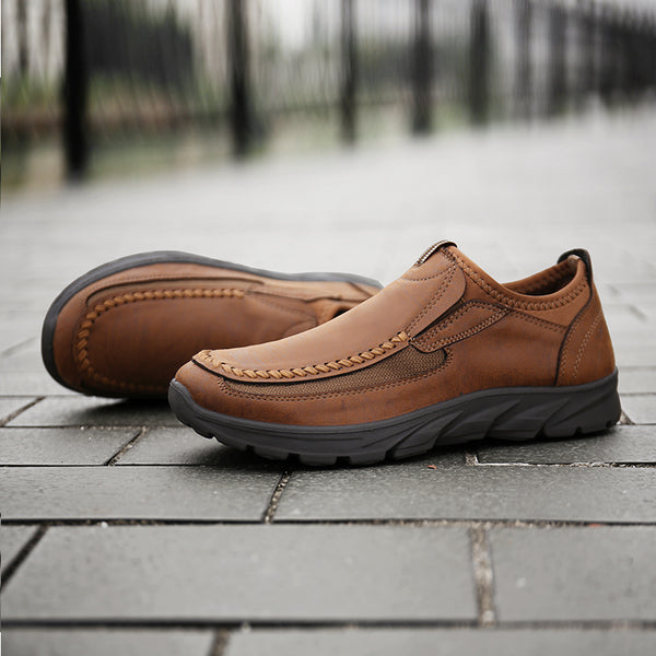 Mens Casual Slip On Loafers Fashion Outdoor Flats