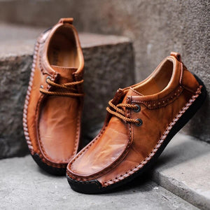 Men's Casual Retro Flat Shoes