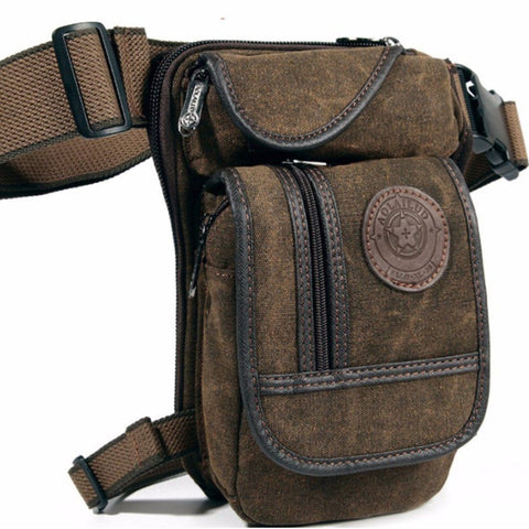 Men's Sport Multi-function Bag Casual Pockets Rider Leg Chest Bag