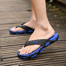 Load image into Gallery viewer, Mens Slip Resistant Clip Toe Casual Summer Beach Slippers