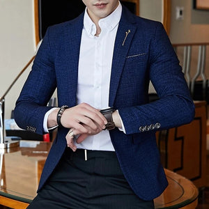 Men Fashion Grand Blazer