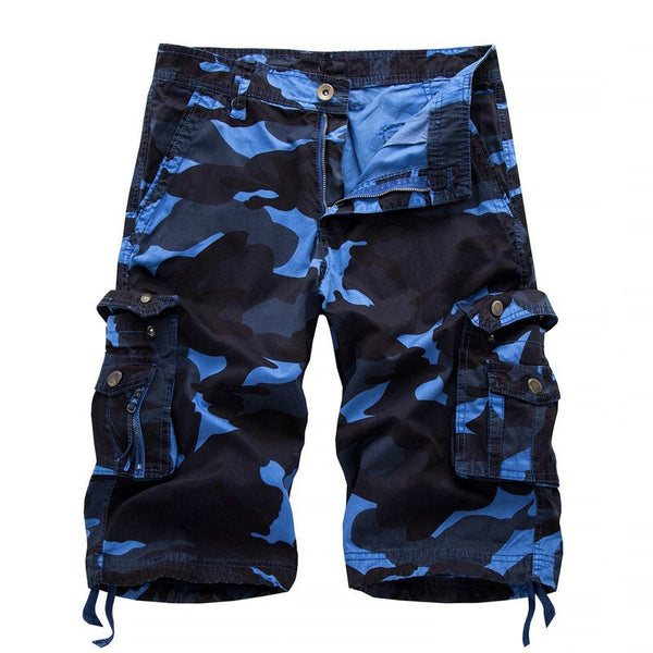 Mens Summer Camouflage Short Pants Cargo Shorts