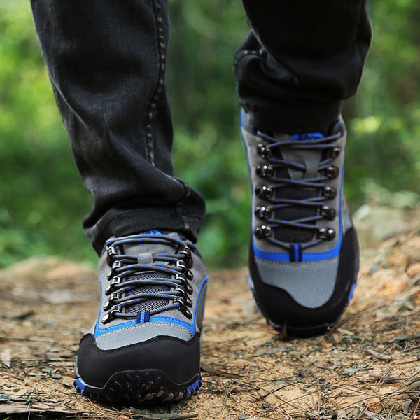 Mens Outdoor Climbing Hiking Athletic Shoes Running Sneakers