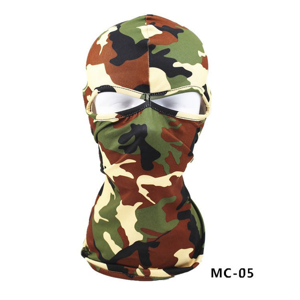 Motorcycle Under Helmet Face Mask Camouflage Mask