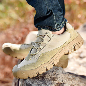 Mens Casual Outdoor Climbing Shoes Fashion Lace-up Athletic Shoes