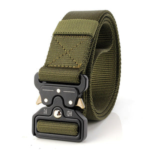 Mens Nylon Tactical Belt Waist Belts