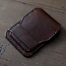 Load image into Gallery viewer, Minimalist Card Holder Slim Business Travel Wallet