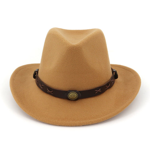 Fashion Minority Style Couple Western Cowboy Hat