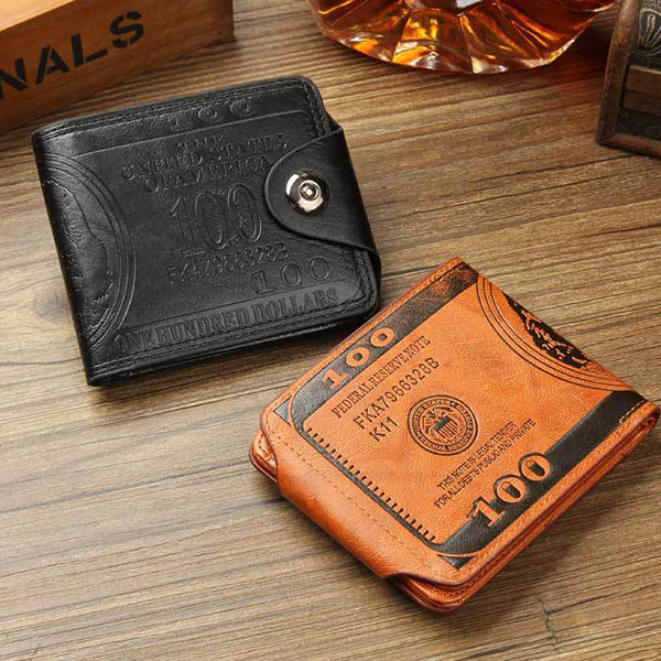 Portable Purse 9 Card Holders Wallet For Women Men