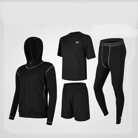 Mens Quick-Drying Summer Tight Sports Fashion Sets
