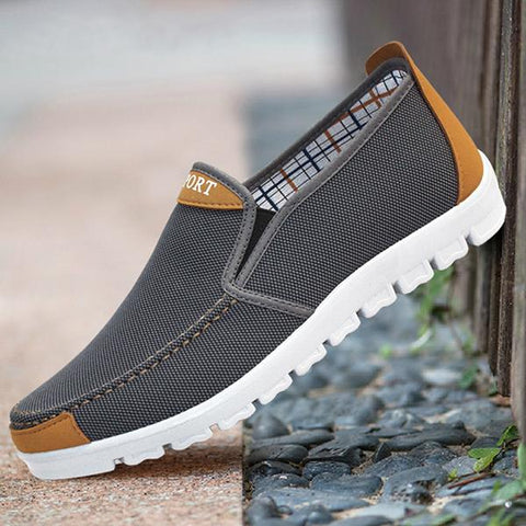 Solid Color Casual Men Shoes