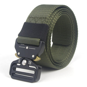 Mens Nylon Military Belt Quick Release Buckle Tactical Belt