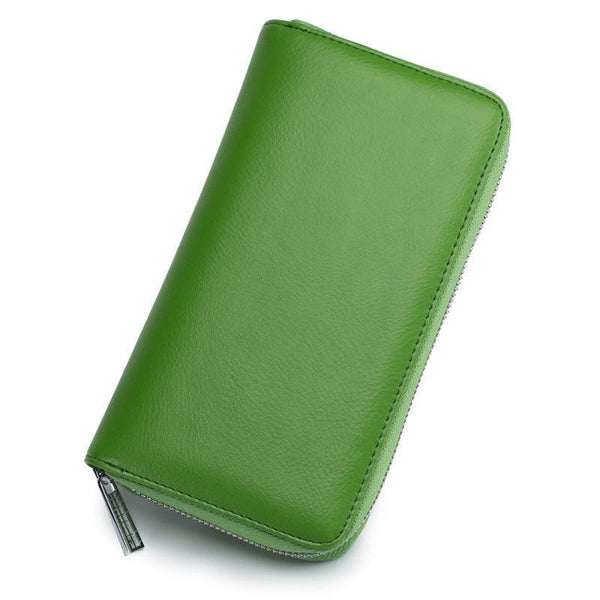 RFID 36 Card Slots Wallet Phone Purse