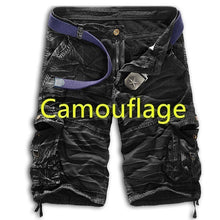 Load image into Gallery viewer, Men's Fashion Camouflage Shorts Cargo Short Pants