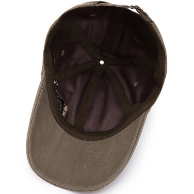 Mens Fashion Letter Embroidery Sunshade Hats Baseball Caps