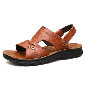 Multifunctional Men's Soft Breathable Massage Casual Sandals