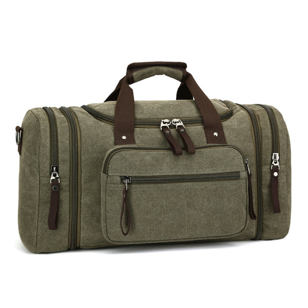 Mens New Fashion Outdoor Travel Bag Portable Canvas Crossbody Bag