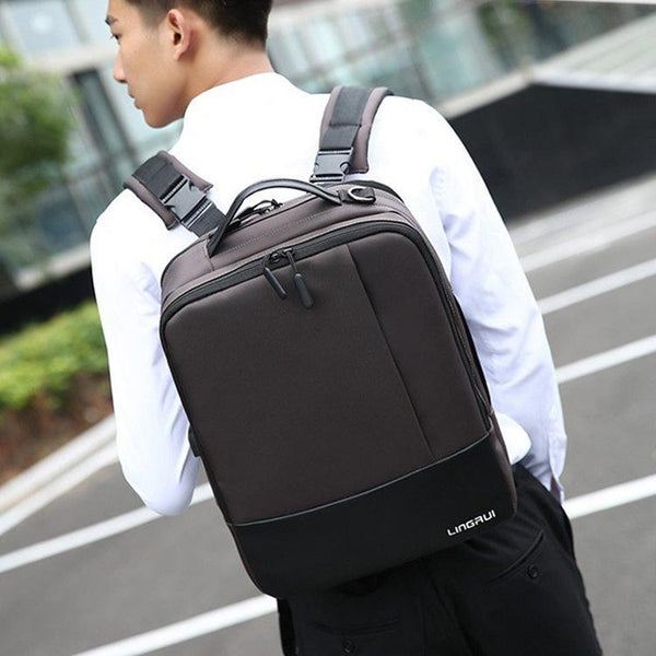 Men's Premium Anti-theft Laptop Backpack with USB Port