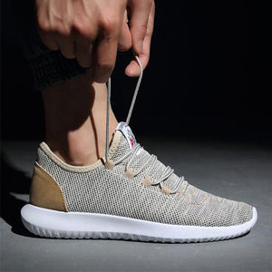 Mens Casual Jogger Sports Sneakers Running Shoes