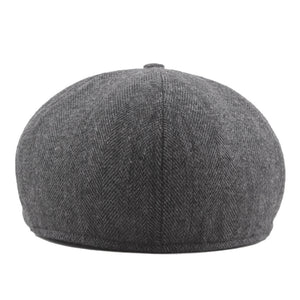 Men Women Fashion Solid Color Beret Hat Painter Newsboy Caps
