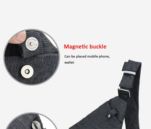 Load image into Gallery viewer, Waterproof Waist Bag Phone Pocket Chest Pack Nylon Waist Pack