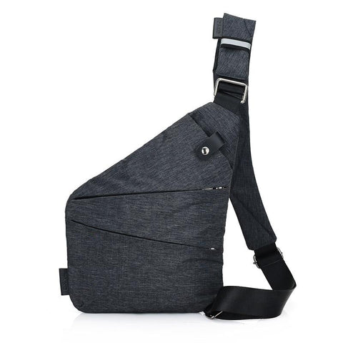 Waterproof Waist Bag Phone Pocket Chest Pack Nylon Waist Pack