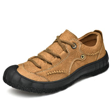 Load image into Gallery viewer, Men Large Size Casual Lace Up Flats Climbing Shoes