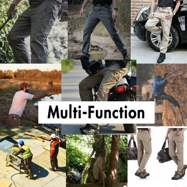 Men Tactical Military Cargo Outdoor Sports Hiking Combat Multi-pockets Pants