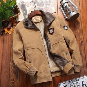 Men's Corduroy Casual Thick Jackets