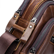Load image into Gallery viewer, Mens Fashion Genuine Leather Shoulder Bag Crossbody Bags