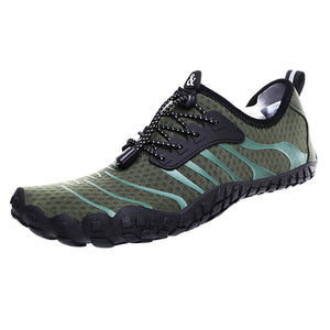 Mens Drainable Sole Diving Soft Sole Slip Resistant Water Beach Shoes