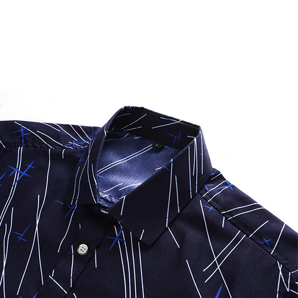 Mens Plus Size Short Sleeve Casual Summer Shirts