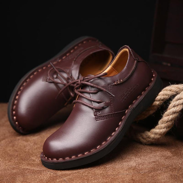 Men's Business Casual Lace-Up Shoes