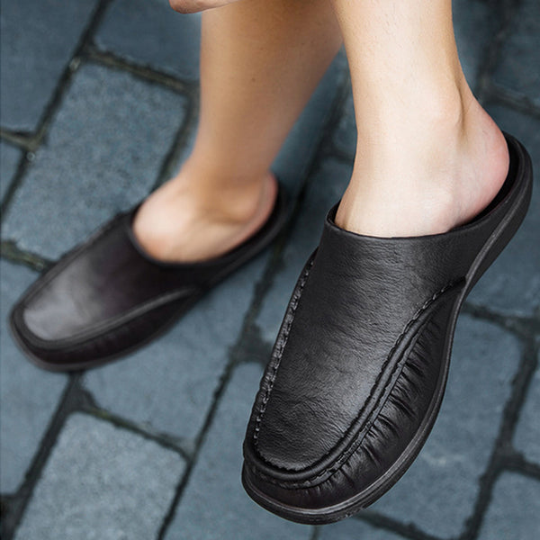 New Fashion Men Slip On Slippers