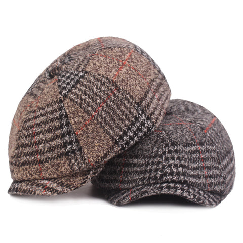Fashion Autumn Winter Warm Knitted Wool Beret Cap